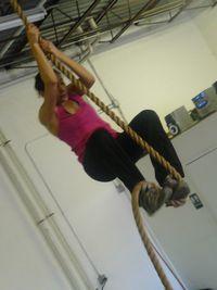 V-rope-climb