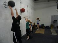 Wall-ball-group