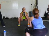 Goblet-squats